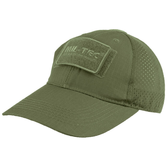 7b3ca816a Mil-Tec Net Baseball Cap Ripstop Tactical Military Airsoft Lightweight Hat  Olive