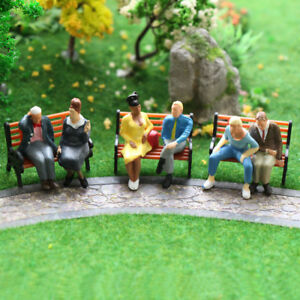 24pcs-O-scale-All-Seated-Figures-1-43-Painted-People-Model-Railway-NEW-P4803