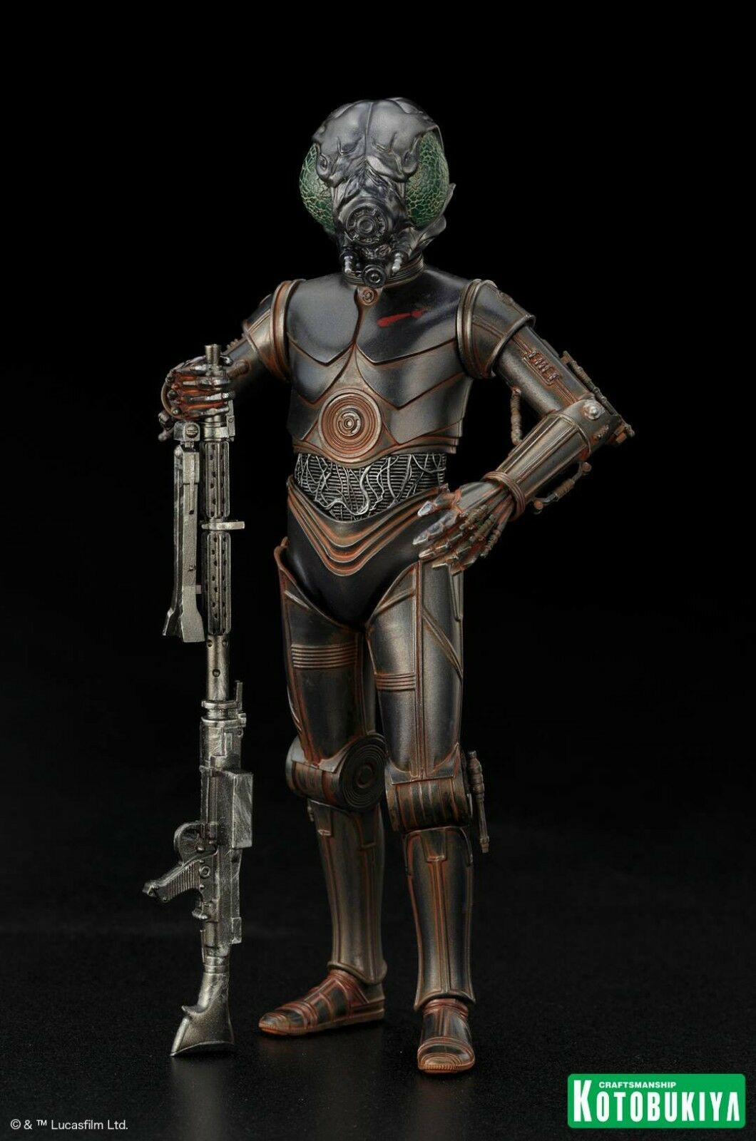Star Wars 4-Lom Bounty Hunter Kotobukiya ArtFX+ 7  Empire Strikes Back SW145
