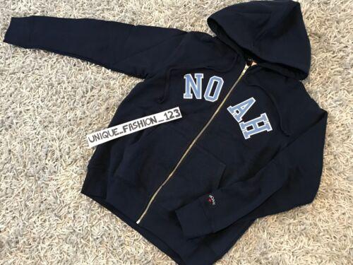 Blue Noah Xl Sweatshirt Zip Nyc Hoodie Hooded Ss17 Xlarge Ny Up Navy Script rBx4qX0B