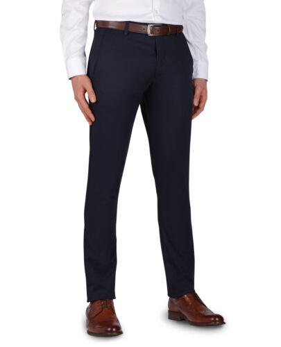 T.M.Lewin Mens Felton Skinny Fit Navy Cotton Stretch Chino