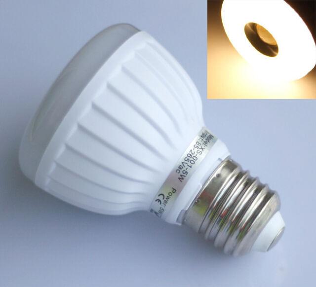 E27 25 3528 SMD LED Bewegungsmelder Licht Lampe Strahler WarmWeiß 5W AC 85-265V