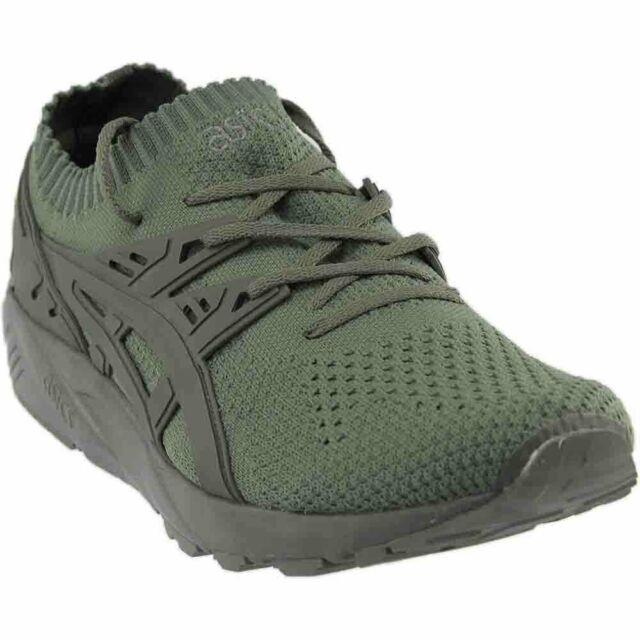 big sale 30c5d 594f2 ASICS GEL-Kayano Trainer Knit Athletic Cross Training Stability Shoes -  Green -