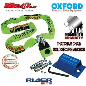 THATCHAM-MOTORCYCLE-GOLD-APP-1-8M-CHAINLOCK-OXFORD-SOLDSECURE-FLOOR-ANCHOR-SET
