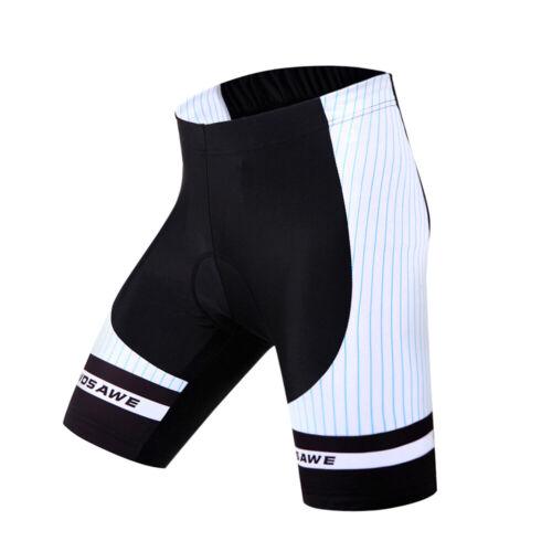 Summer Cycling Shorts+Gel Padded Breathable Mens MTB Bike Tights Riding Pants