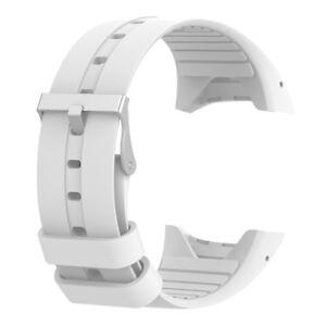Luxury-Wristband-Smart-Watch-Strap-Clasp-For-Polar-M400-M430-Bracelet-White