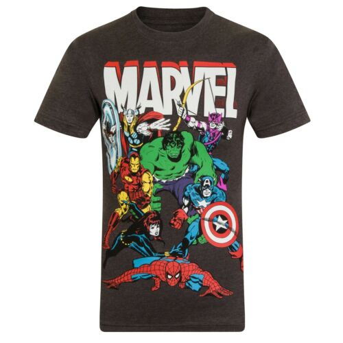 Marvel Comics Official Gift Boys Kids Character T-Shirt Hulk Iron Man Thor