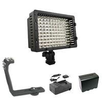 Pro Led 12 Hd Video Light F970 For Canon Xa35 Xa30 Xa25 Xa20 Xa10 Professional