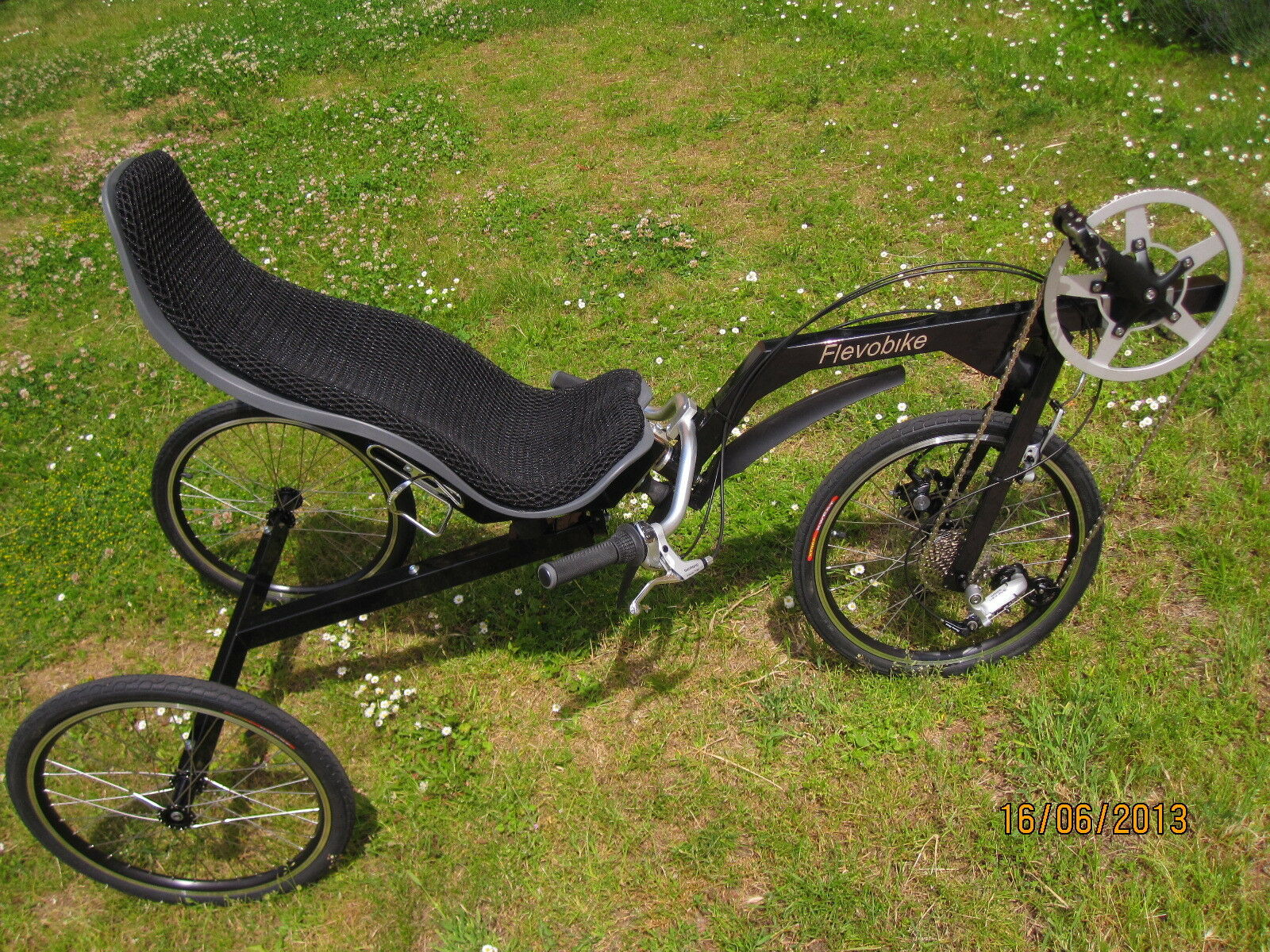 Plegable Plegable Plegable Bicicleta tumbada Triciclo flevobike flevo trike  Envío 100% gratuito