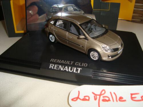 RENAULT CLIO ESTATE  BREAK  NOREV 1//43° RENAULT MERCHANDISING