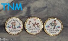 @**100 PERSONALIZED BALLET GIRL//BALLERINA BIRTHDAY KISS CANDY LABELS//DECALS**@