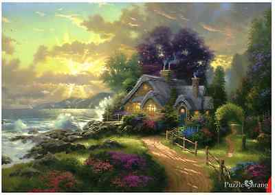 "Jigsaw Puzzles 1000 Pieces ""A Newday Dawning"" / Thomas Kinkade /Schmidt"