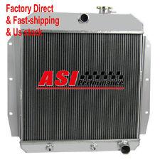 ASI 3 Row Aluminum Radiator For 55 56 57 58 59 Chevrolet Apache Truck