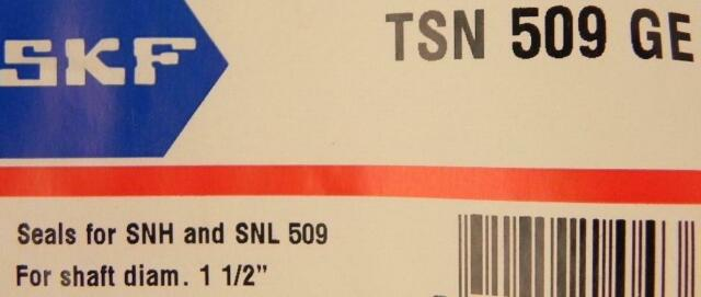 SKF TSN 509 L SNL  Vierlippendichtung TSN509L NEU