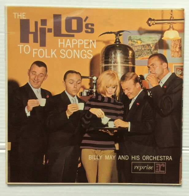 The Hi-Lo'sWithBilly May And His Orchestra Happen To Folk Songs UK LP