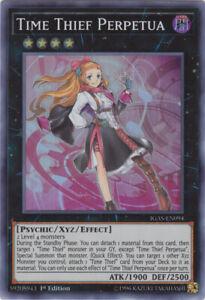 3X Time Thief Perpetua IGAS-EN094 Super Rare Yugioh Ignition Assault