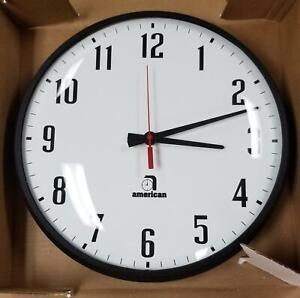 New American Time And Signal Company 13 School Church Quartz Wall Clock V Ebay