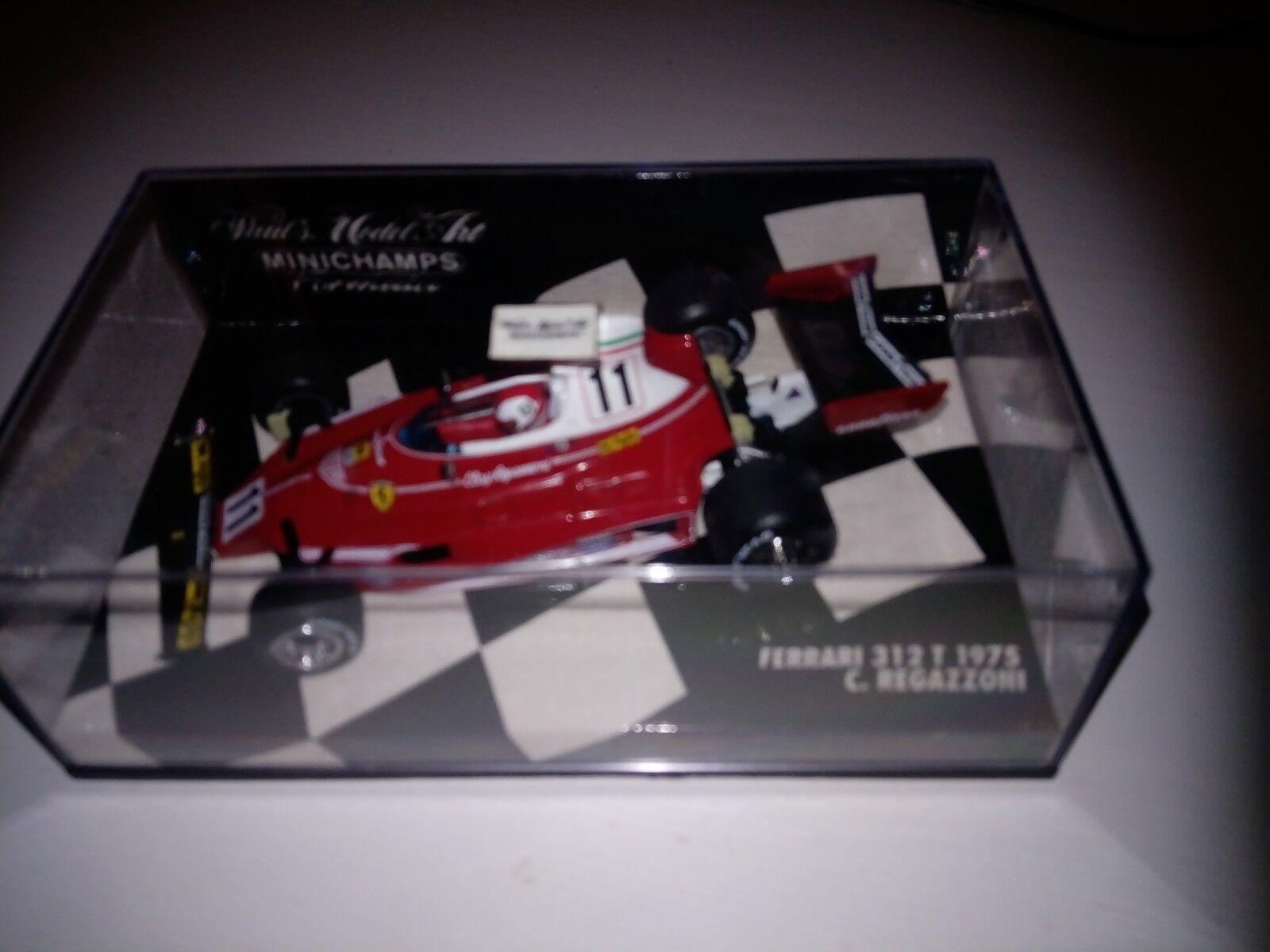 Ferrari 312T- Clay Regazzoni - 1975-1 43 M champs-Mega