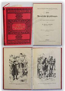 Werther-Kleine-moralische-Erzaehlungen-um-1900-Kinder-Geschichten-Jugend-xy
