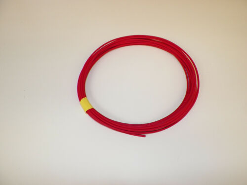 14 RED Abrasion-Resistant General Purpose Wire 25 feet coil GXL -