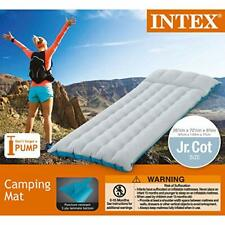 NEW 5 Tube Rubberised Lilo Inflatable Camping Airbed Sleeping Air Bed Mattress