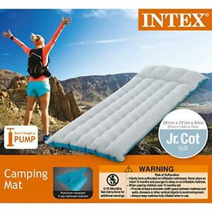 Intex Inflatable Airbed Camping Mattress Twin Size Thin ...