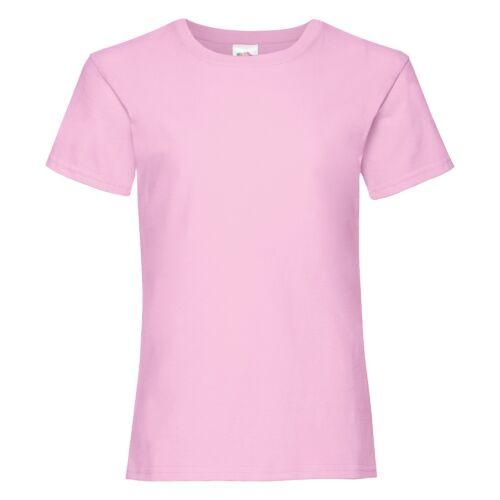 Girls Tshirt Plain T Tee Shirt 19 Colours Age 3//4-14//15 Girlie Fit Side Seams
