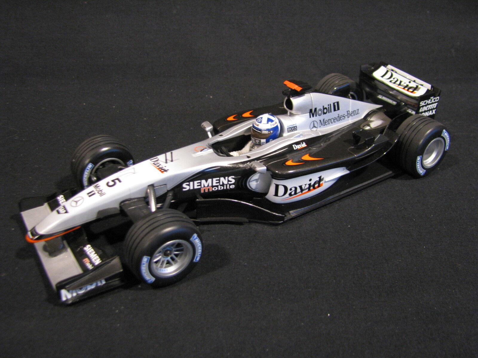 grandes ahorros Minichamps McLaren Mercedes MP4 17D 2003 1 18 18 18  5 David Coulthard (GBR) (JvM)  tienda de descuento