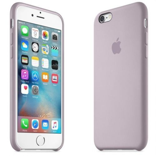 best service 0e096 27df3 Apple Silicone Case for iPhone 6 / 6s Lavender