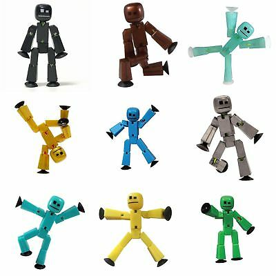 Multi-Colour 2 pack Toy Shed Stikbot Figure Stop Motion Animation App Toy