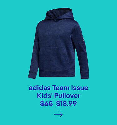 adidas Team Issue Pullover Hoodie