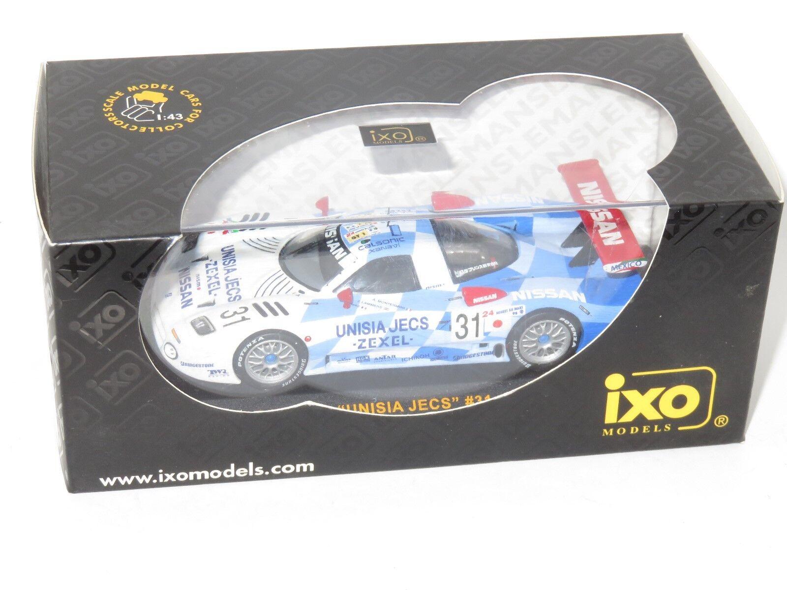 1 43 Nissan R390 GT1 Unisia Jecs  Le Mans 24 Hrs 1998