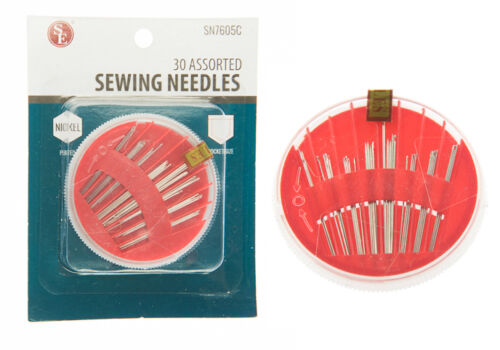 3-Pack 90pc Assorted Stainless Sewing Needles Set Embroidery Tapestry Tailoring