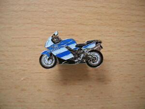 Pin-039-s-Broche-BMW-K-1200-S-K1200S-Modele-2004-Blanc-Bleu-Art-0974-Moto