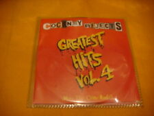 Cardsleeve Full CD COCKNEY REJECTS Greatest Hits vol. 4 PROMO 16TR '00 KDP punk