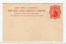 GB - QV: Postal Stationery postcard (C25282)