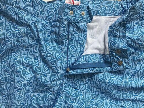 Mens Derek Rose  Swim Shorts Blue Modern Fit  S RRP£170 L M