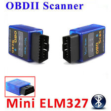 Mini Bluetooth ELM327 B OBDII OBD CAN-BUS Scan Tool Protocols Diagnostic Scanner