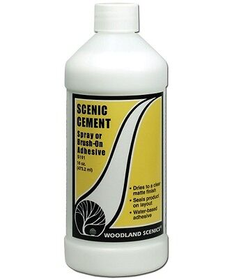 Woodland Scenics [WOO] Scenic Cement Adhesive S191 WOOS191