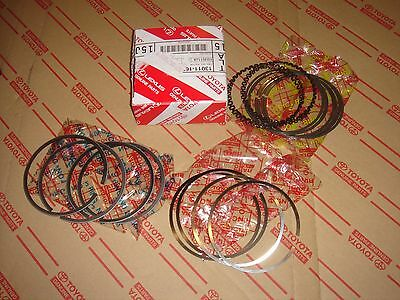 Toyota Factory Piston Ring Set for 4AGE-16V Hi-Comp(Standard Size)AE82 AE86 AE92