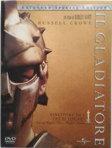 Dvd-Il-Gladiatore-Special-Extended-Edition-digipack-3-dischi-2000-Usato