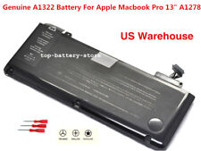 "Genuine OEM A1322 Battery For App MacBook Pro 13""A1278 Mid 2009 2010 2011 2012"