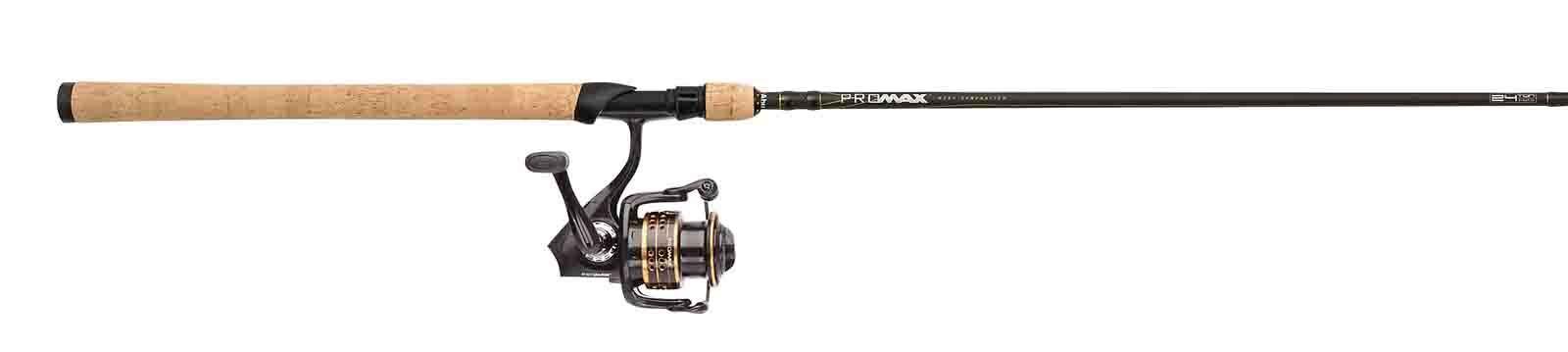 Abu Garcia New Pro Max Front Drag Spin Fishing Spinning Combo Kits - Rod & Reel