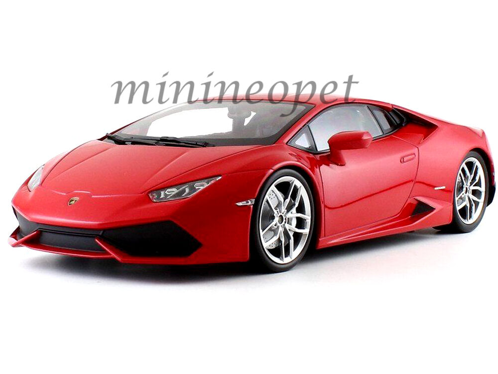 Kyosho 09511 Rm Lamborghini Huracan Lp 610-4 1 18 Diecast Model Car rosso Metálico