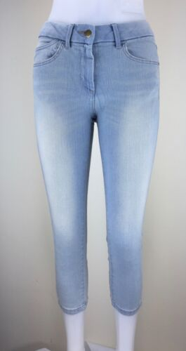 Ex M/&S Jeggings Mid Rise Ladies Womens Abrasion Crop Cropped Pants Leggings 8 22