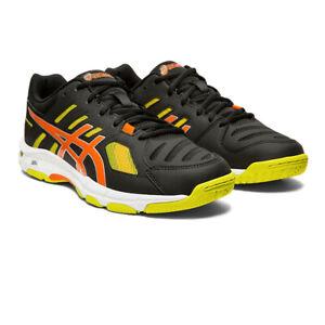Asics-Homme-Gel-Beyond-5-Interieur-Cour-Chaussures-Noir-Sport-Squash-Respirant