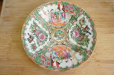 """Superb Antique Chinese Famille Rose Bowl 7"""" Wide Ca High Quality And Inexpensive y7-w6-a9 1920"""