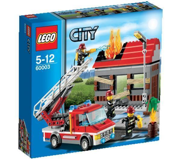 LEGO City 60003 - Fire Emergency - NEW & SEALED