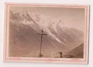Vintage-CDV-Glacier-at-Mont-Blanc-France-Tairraz-Photo-Chamonix