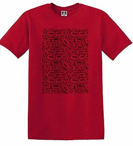 Details about Cassette Old School Music T-shirt 80s Retro 70s Vintage 90s  Tape Pattern Tee